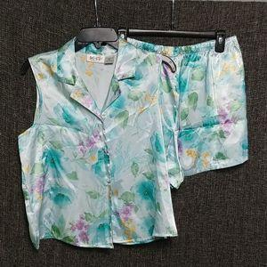 Kim Rogers Floral Pajamas